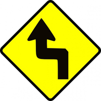 Yield sign for change